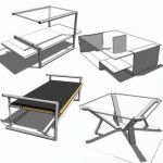 Collection of coffee tables by classicon
