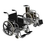 Three wheelchairs in standard 