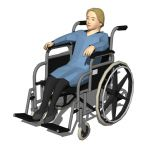 View Larger Image of Handicapped People 10