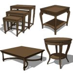 Karvet table collection