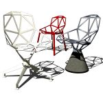 Chair One in its different available bases. Design...