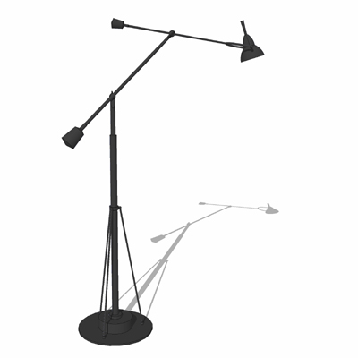 Counterpoise Task Floor Lamp by Restoration Hardwa....