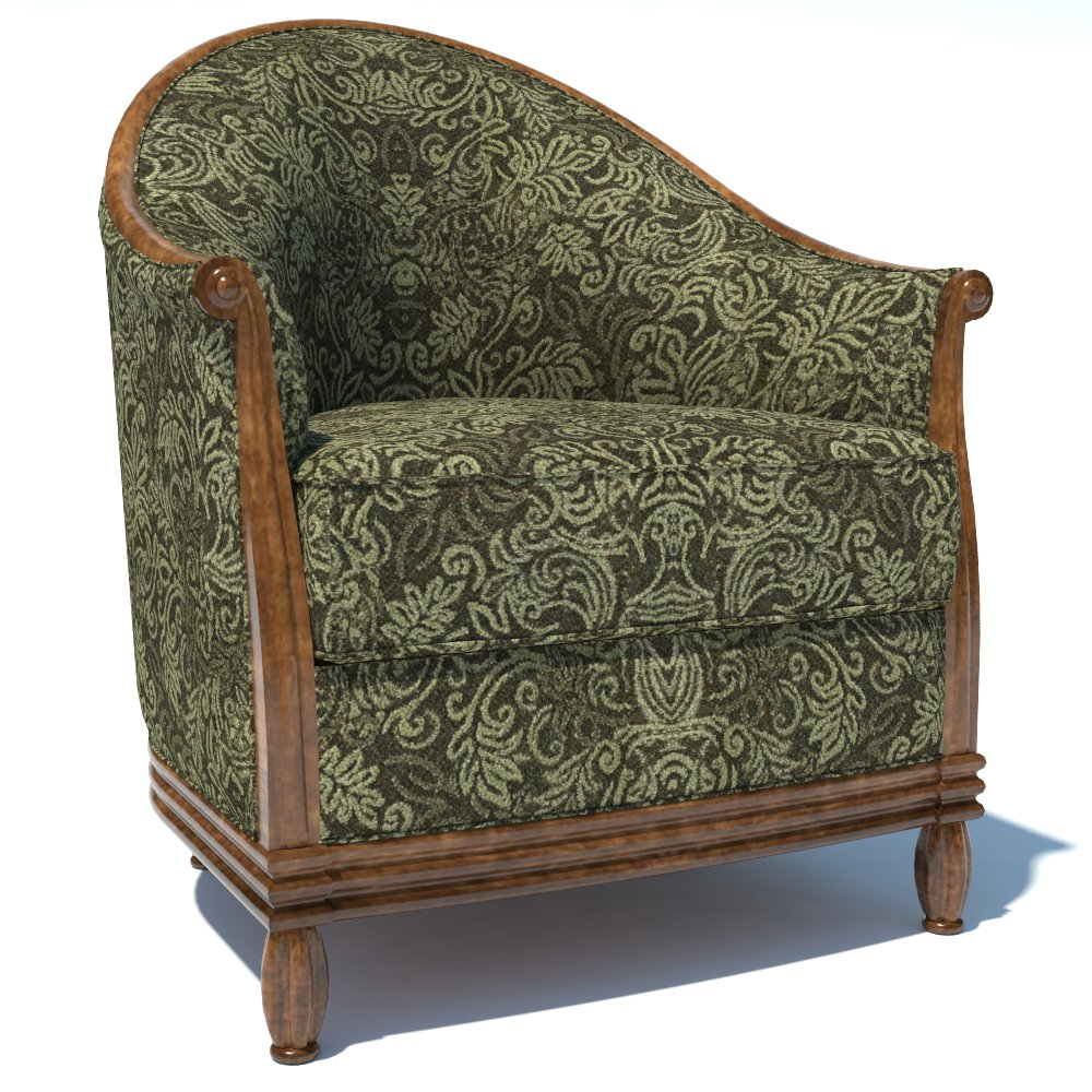 Traditional Armchair 02. Due to its big amount of ....