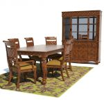 Traditional Dining set includes the dining chair a...