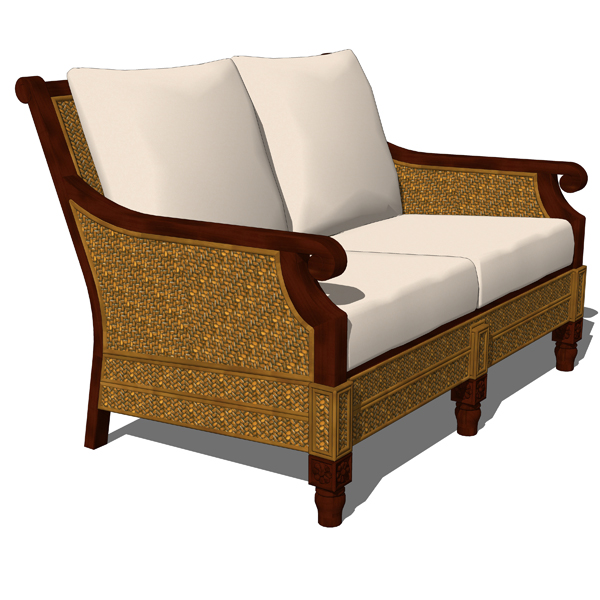 Traditional Outdoor set 01 includes 2 seater sofa,....