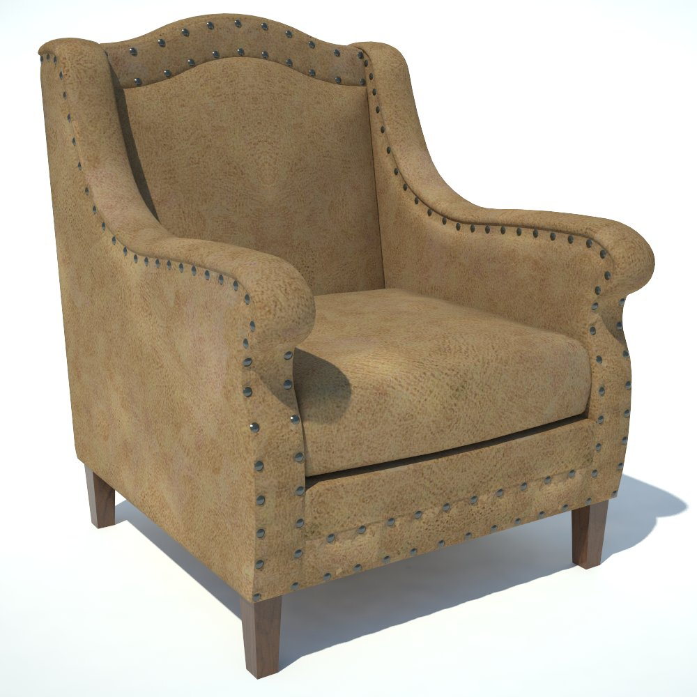 Traditional Armchair 03..