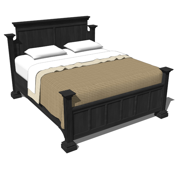 Traditional Bedroom set includes 2 styles of King ....