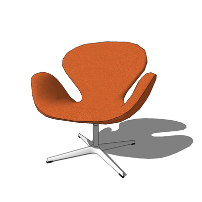 Swan chair by Fritz Hansen, designed by Arne Jacob....