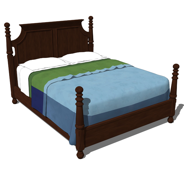 Traditional Bedroom Set 02. This First part includ....