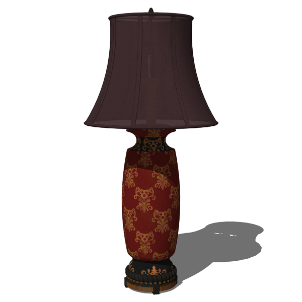 Traditional Table Lamps Set..