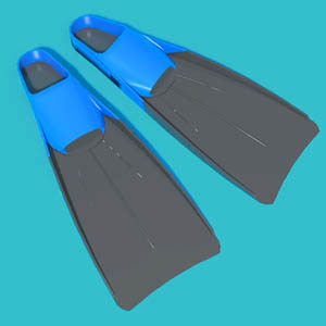 View Larger Image of Swim Fins