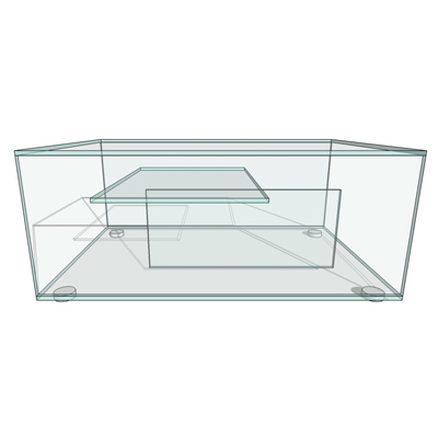 Gem coffee table by Habitat, designed by Matthew H....