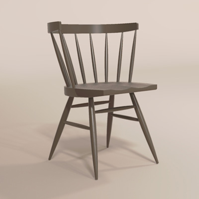 Straight Chair Set.