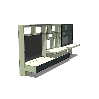 Flat C shelving by B&B Italia. Models fc0912, ....