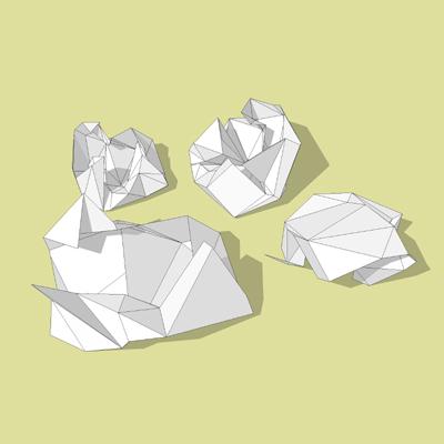 Crumpled paper 3D Model - FormFonts 3D Models & Textures