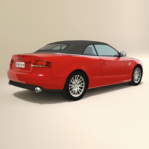 Audi A5 Cabriolet (Includes two 