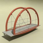View Larger Image of FF_Model_ID15594_Pedestrian_Bridge.jpg