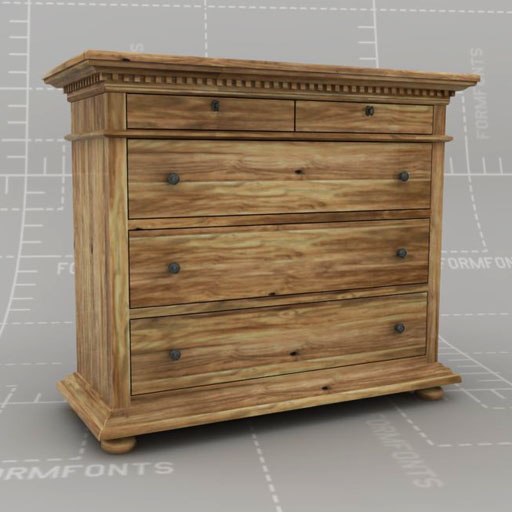 St James Drawer Dresser Set.