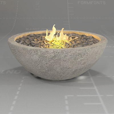RiverRock Fire Bowl.