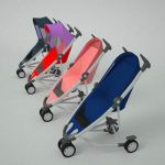 Four strollers/child buggies