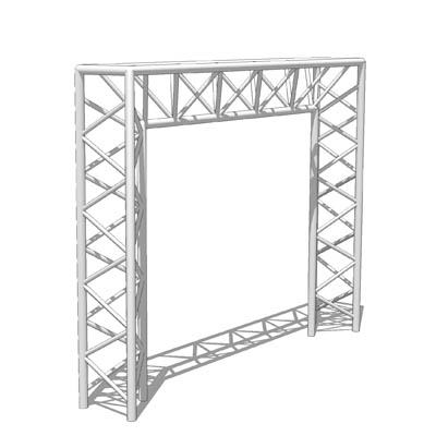 Create exhibition stands with this space frame por....