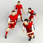 Rugby Players Set 10 -