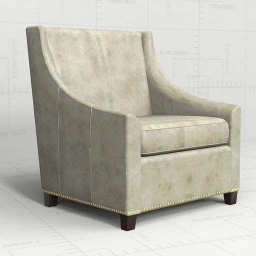 West Elm Sweep Armchair.