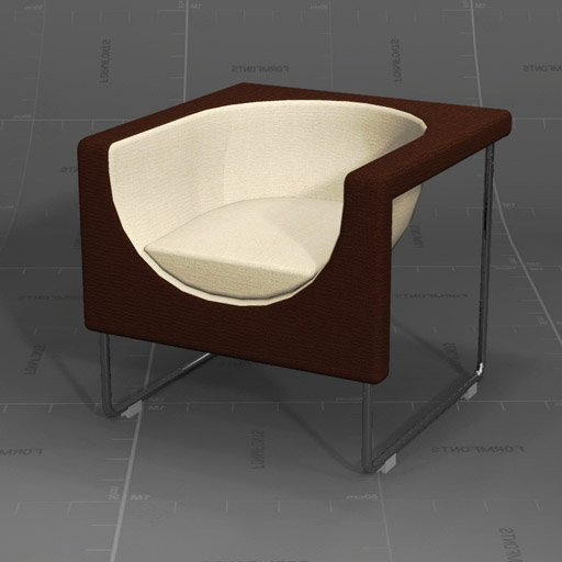 Nube Armchair, designed by Jesús 