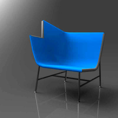 Moroso Paper planes lounge chairs..
