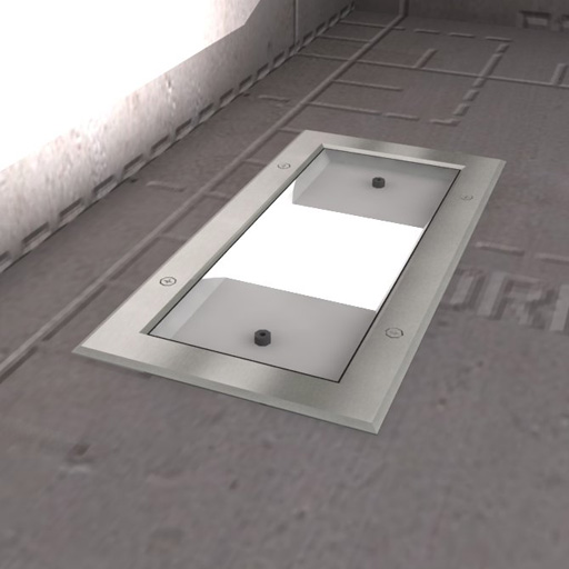 Inground Recessed Lights : Revit Format Added.