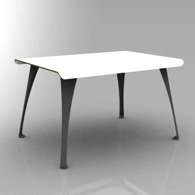 Barcelona Curve outdoor tables in 3 different leng....