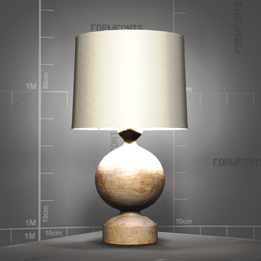Boule Table Lamp.