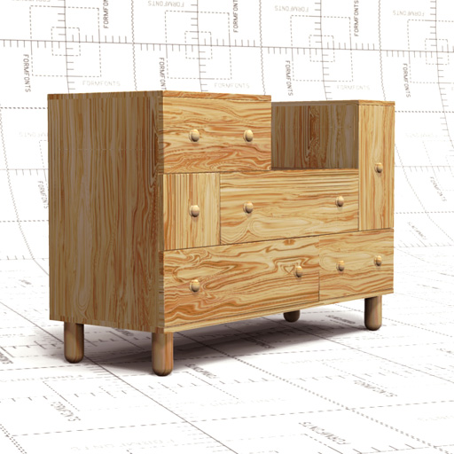 Ikea Chest Of Drawers 3d Model Formfonts 3d Models
