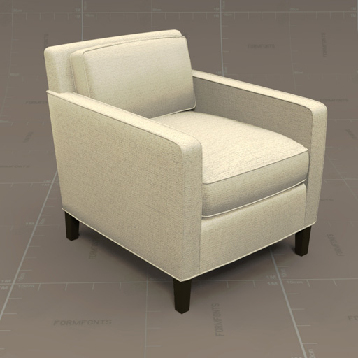 Crate & Barrel Vaughn Chair and 