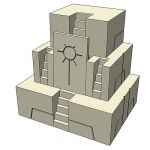 Necron Temple. For use in 2D RTS games.