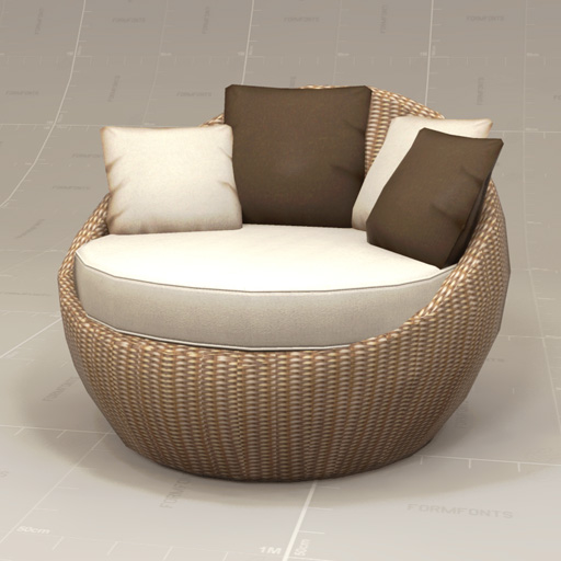 Seychelles Bubble Outdoor Chair.