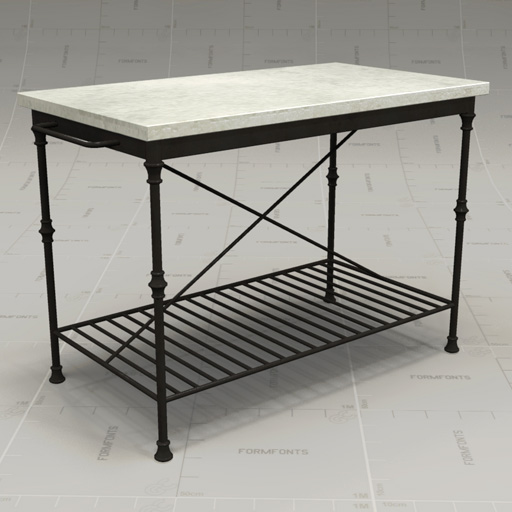 Crate&Barrel French Kitchen Island.