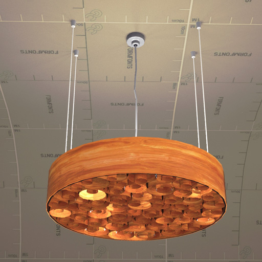 Spiro Suspension Lamp.