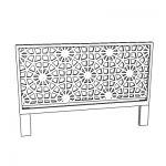 West Elm Morocco Headboard. 