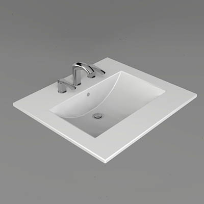 Xylem china vanity top sink in 4 