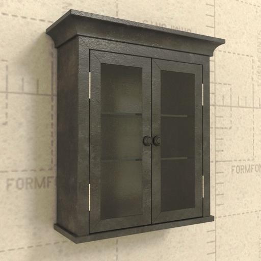 RH Zinc Cabinet 3D Model - FormFonts 3D Models & Textures