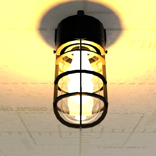 NPower Light Fixture.