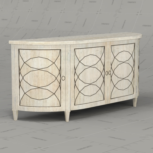 Hickory Chair Duchamp Demilune 
