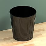 <br>Basket, Wastepaper, Round, 