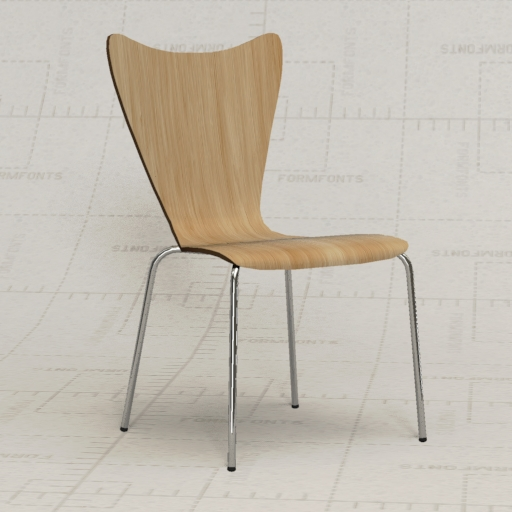 Legare Bent Playwood Chair.