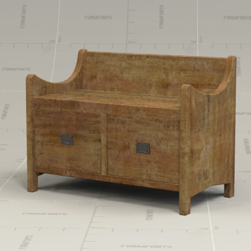 Pottery Barn Wade Bench.