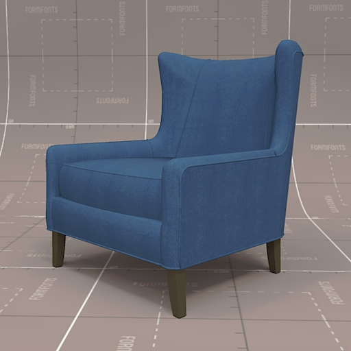 Generic Wing Back Chair.