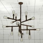 Troy Lightning Conduit Chandelier