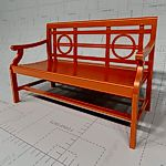<br>Teak Bench<br>Revit� 