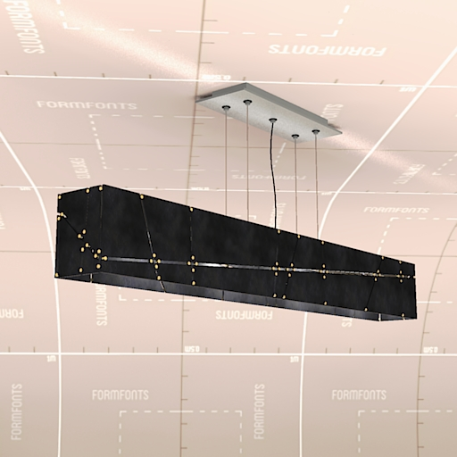Crossroads Linear Suspension Lamp.
